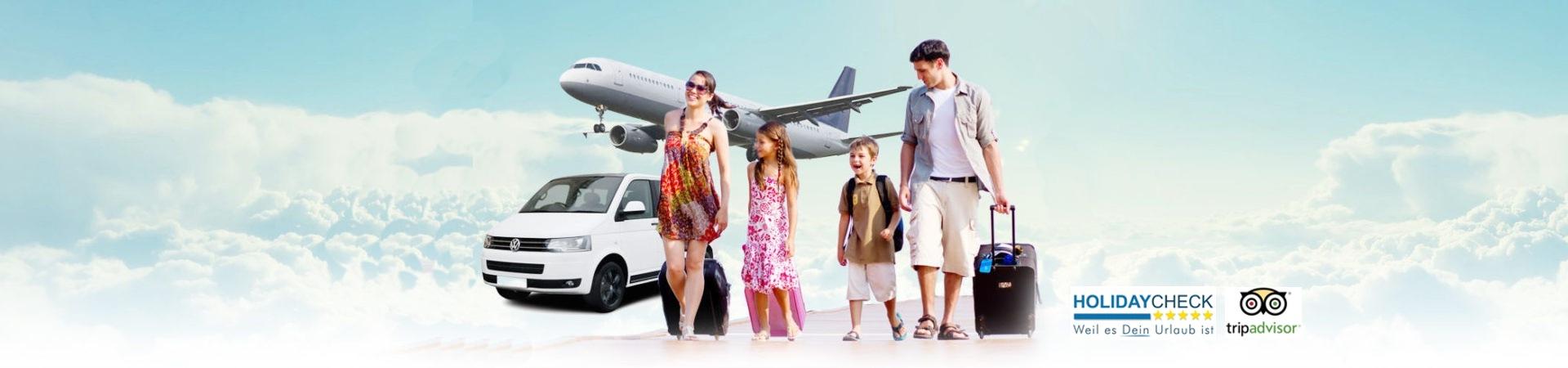 Flughafen Transfer in Antalya, Mallorca, Hurghada, Phuket, Bangkok